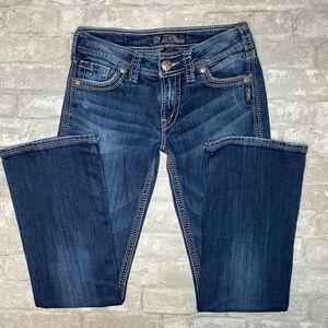 Silver Jeans Suki Surplus Size 27